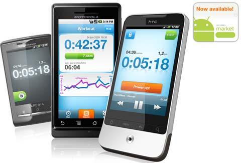 Runstar.se, aplicación Android para hacer ejercicio - runstar