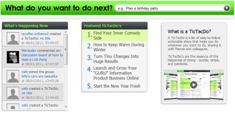 tictacdo listas actividades TicTacDo, crea tus listas de cosas por hacer y compártelas