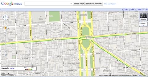 trafico buenos aires google maps Como saber el tráfico de Buenos Aires con Google Maps