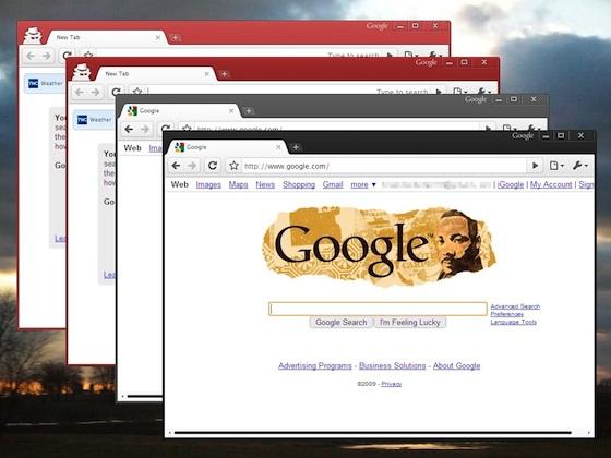 Google chrome themes Nuevos temas para Google Chrome