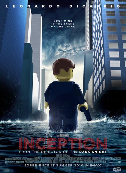 Inception 2 Las nominadas al Oscar versión Lego