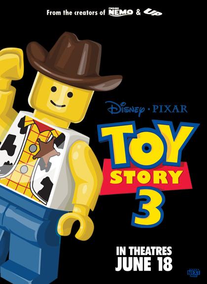 Las nominadas al Oscar versión Lego - Toy-Story-3