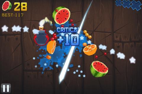 Fruit Ninja para Nokia con Symbian^3