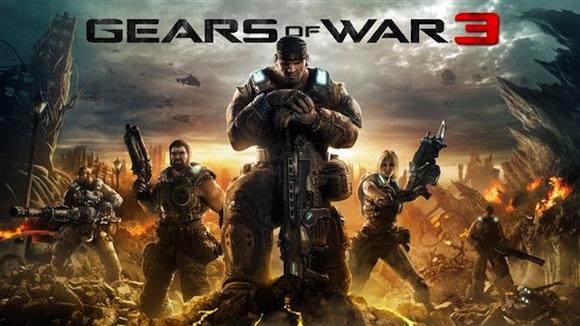 Gears of War 3 ya tiene portada oficial