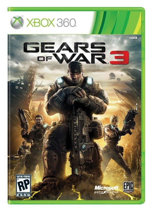Gears of War 3 ya tiene portada oficial - gears3boxart.jpg-610x0
