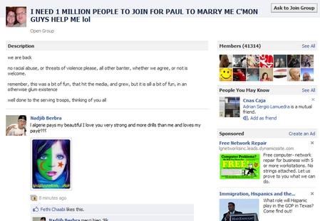 """Consigue 1 millón de amigos en Facebook y me caso contigo"" - grupo-de-1-millon-de-amigos"