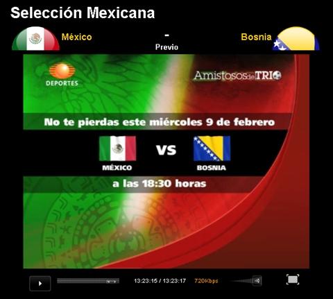 Mexico vs Bosnia en vivo, Amistoso 2011 - mexico-bosnia-en-vivo-amistoso-2011