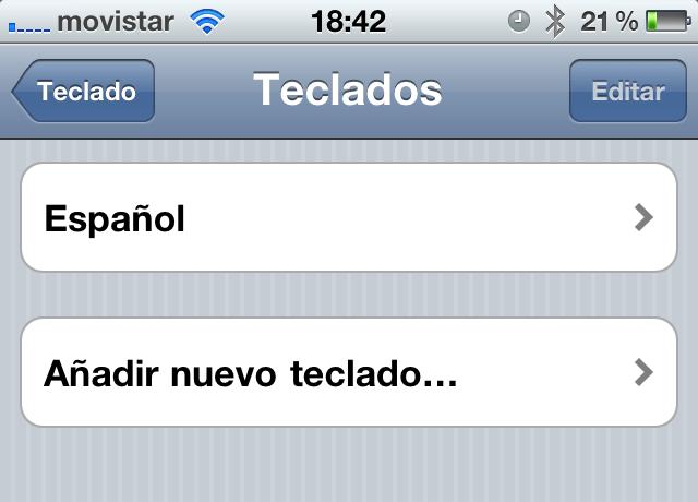nuevo teclado iphone1 Cómo agregar emoticonos a tus mensajes de tu iPhone o iPad