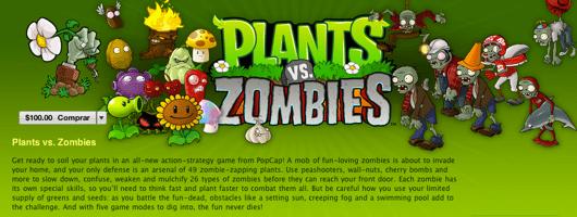 Plantas vs Zombies disponible en la Mac App Store - plantas-vs-zombies