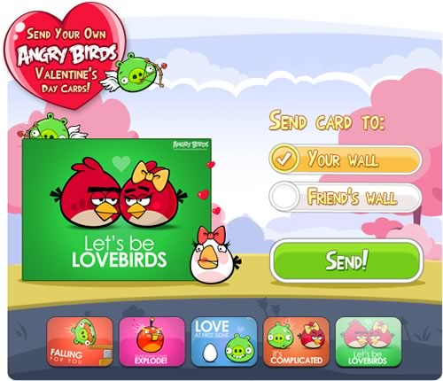 Postales para San Valentín de Angry Birds - postales-amor-angry-birds