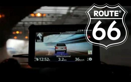 ruta 66 android Route 66 une la navegación GPS con la realidad aumentada