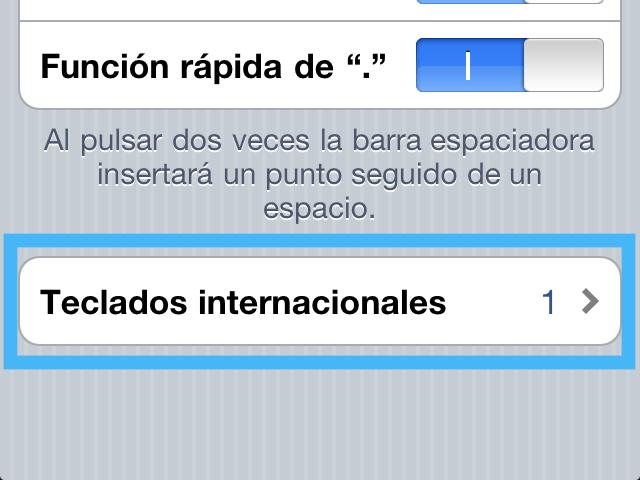 varios teclados internacionales Cómo agregar otro teclado de diferente idioma en tu iPhone o iPad