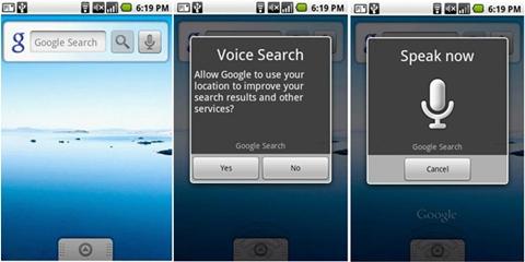 voice search google Tecnología de reconocimiento de voz de Google