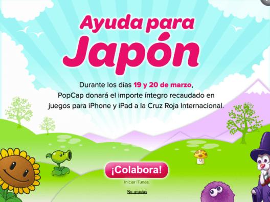 PopCap rebaja sus juegos de iOS para ayudar a víctimas de Japón - Captura-de-pantalla-2011-03-18-a-las-19.47.21