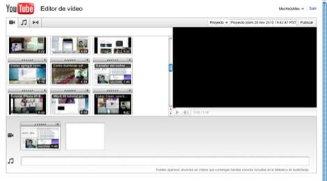 Youtube presenta nuevas funciones para su editor de video en línea - Editor-youtube-video-1