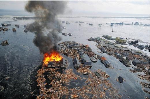Cambios climáticos y una latente necesidad de cambiar nuestro estilo de vida - Terremoto-Japon