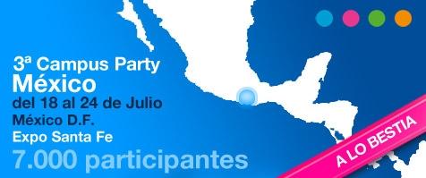 Campus Party México 2011 - campus-party-mexico-2011