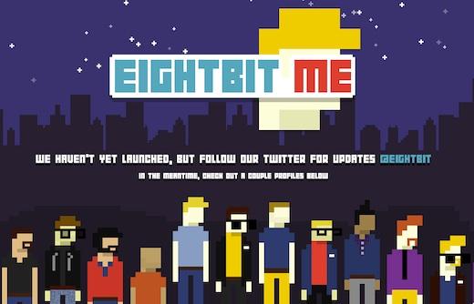 eightbit.me Crea tu avatar en 8 bits con EightBit.me