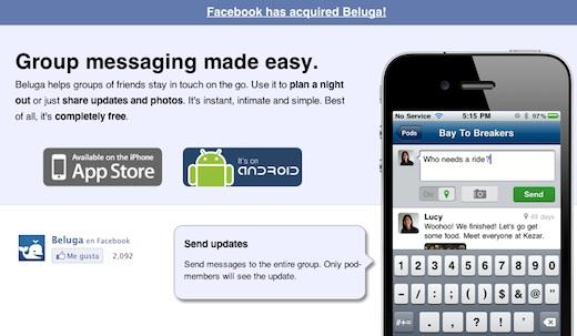 Facebook adquiere a la startup Beluga - facebook-compra-Beluga
