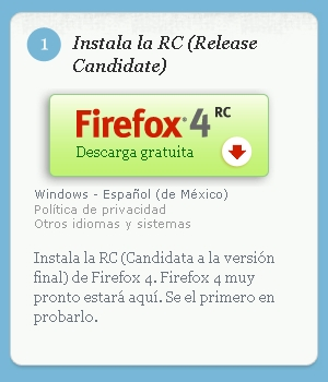 Firefox 4 Release Candidate 2 disponible - firefox-4-release-2