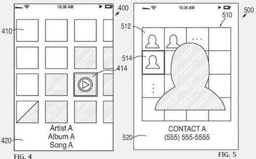 Apple registra una patente de una interfaz diferente para iOS - iOS-5-agenda-de-contactos