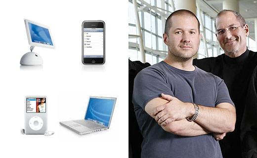 Jonathan Ive, la cabeza del diseño industrial de Apple se queda en casa - jonathan-ive-steve-jobs