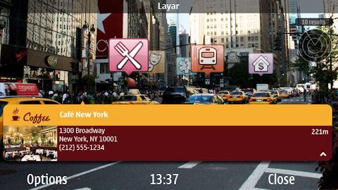 La Realidad aumentada llega a Nokia con Layar - layar4