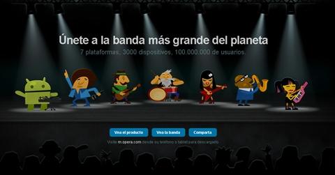 Opera Mini 6 y Opera Mobile 11 disponibles - opera-mini-mobile-band