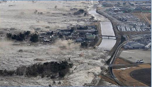 Cambios climáticos y una latente necesidad de cambiar nuestro estilo de vida - tsunami-japon