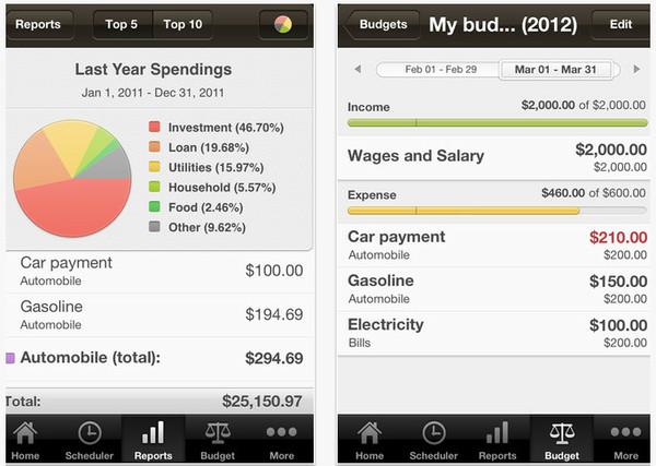 money iphone Aplicaciones para controlar tus gastos y finanzas