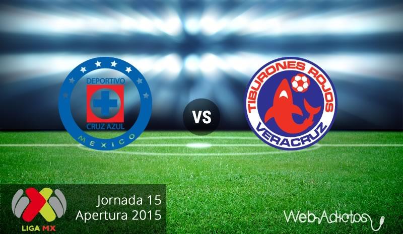 cruz azul vs veracruz apertura 2015 Cruz Azul vs Veracruz en el Apertura 2015 | Jornada 15