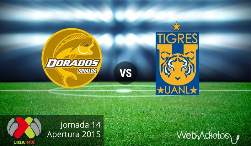 dorados vs tigres apertura 2015 Dorados vs Tigres, Jornada 14 del Apertura 2015