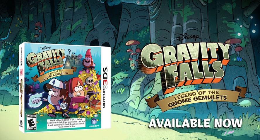 Gravity Falls: Legend of the Gnome Gemulets, ya está disponible - gravity-falls-legend-of-the-gnome-gemulets-ya-esta-disponible