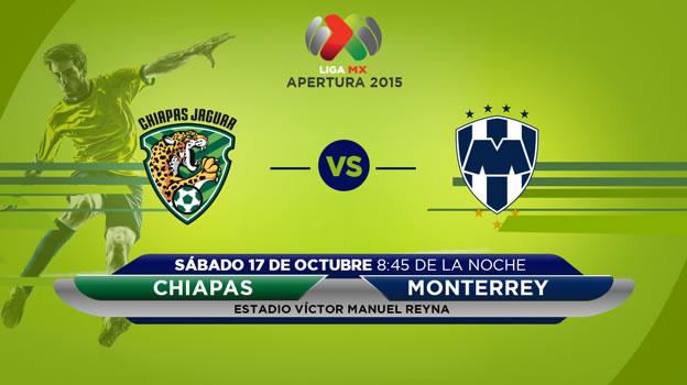 Jaguares vs Monterrey en el Apertura 2015 | Jornada 13 - jaguares-de-chiapa-vs-monterrey-en-vivo-apertura-2015