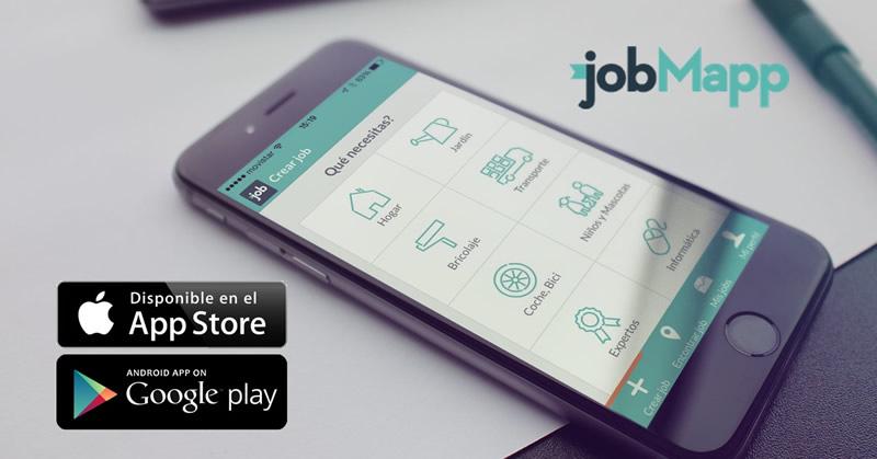 jobMap, una nueva forma de buscar trabajo en México desde tu celular - jobmapp-encontrar-trabajo