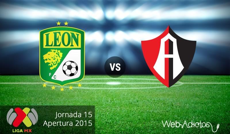 León vs Atlas, Jornada 15 del Apertura 2015 ¡En vivo por internet! - leon-vs-atlas-apertura-2015