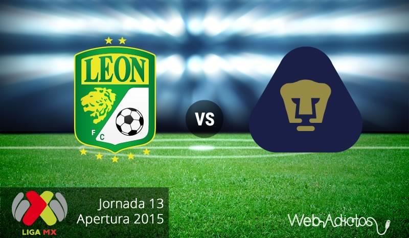 León vs Pumas por el liderato del Apertura 2015 - leon-vs-pumas-apertura-2015