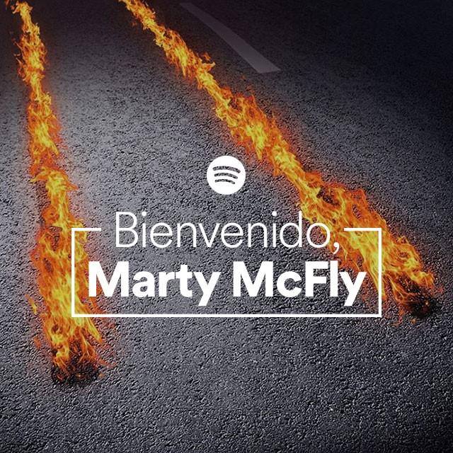 Spotify lanza playlist ¡Bienvenido, Marty McFly! - martymcfly-spotify