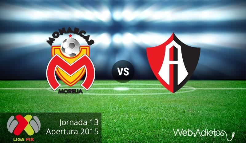 Morelia vs Atlas, Jornada 13 del Apertura 2015 - morelia-vs-atlas-apertura-2015