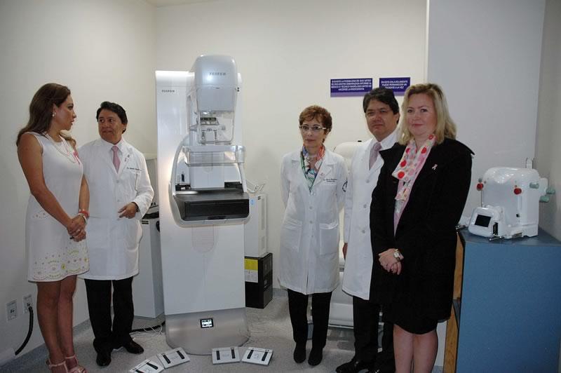nuevo mastografo digital Con mastógrafo digital detectan lesiones mamarias en cinco minutos