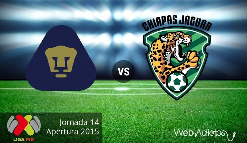 Pumas vs Jaguares, Jornada 14 del Apertura 2015 - pumas-vs-jaguares-de-chiapas-apertura-2015