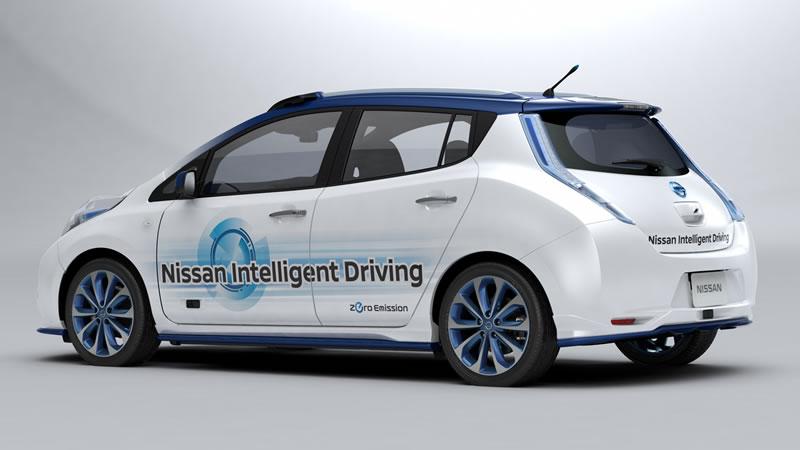 Nissan presentó su prototipo de vehículo de conducción autónoma - vehiculo-autonomo-nissan