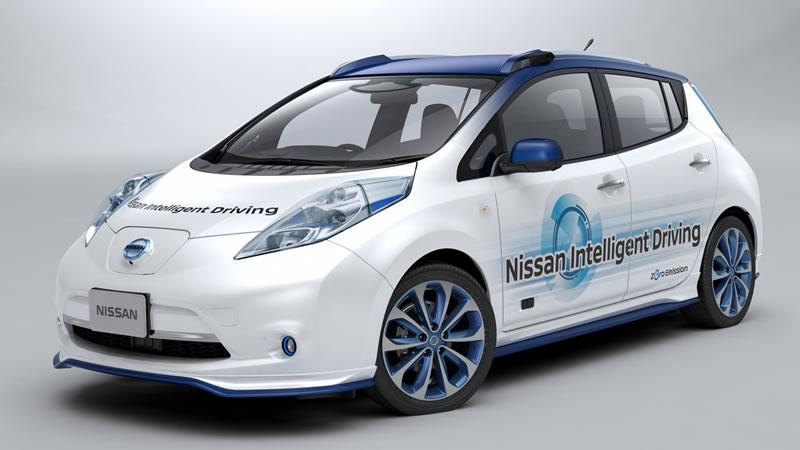 Nissan presentó su prototipo de vehículo de conducción autónoma - vehiculo-conduccion-autonoma-nissan