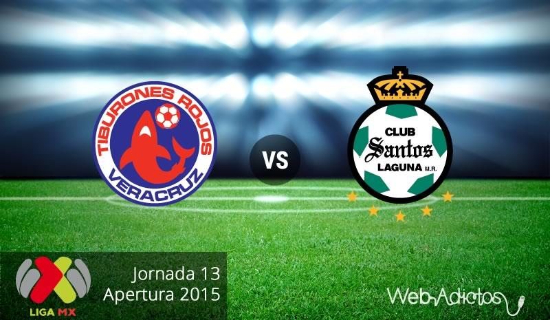 Veracruz vs Santos, Jornada 13 del Apertura 2015 - veracruz-vs-santos-apertura-2015