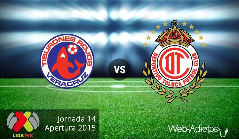 Veracruz vs Toluca, Jornada 14 del Apertura 2015 - veracruz-vs-toluca-apertura-2015