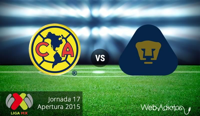 América vs Pumas, Última jornada del Apertura 2015 - america-vs-pumas-apertura-2015