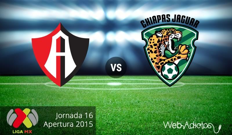 Atlas vs Jaguares, Fecha 16 del Apertura 2015 - atlas-vs-jaguares-apertura-2015