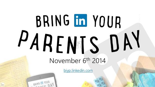 bring in your parents day linkedin anuncia los trabajos mas incomprendidos por los papas LinkedIn anuncia los trabajos más incomprendidos por los papás