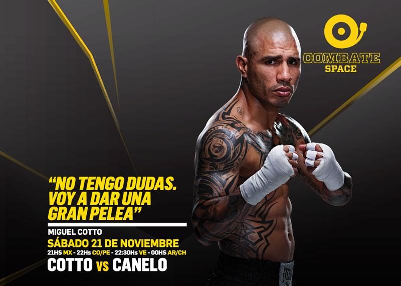 canelo vs cotto en vivo por space internet Canelo vs Cotto desde Las Vegas por el título medio de CMB