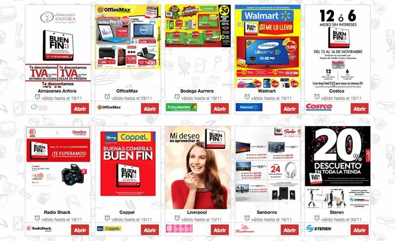 Ofertas de Walmart, Costco y más tiendas en el Buen Fin 2015 - catalogos-de-ofertas-de-walmart-costco-sams-buen-fin-2015